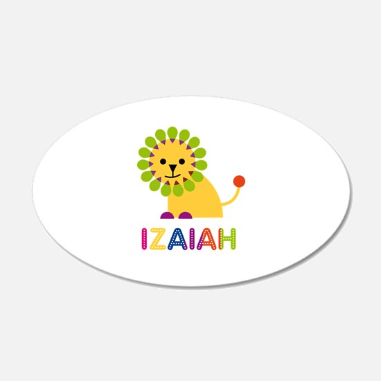 Izaiah Loves Lions Wall Decal
