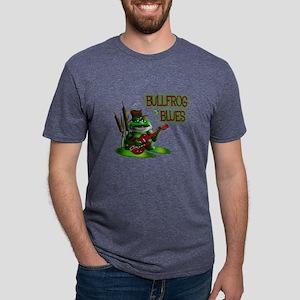 Bullfrog Blues Mens Tri-blend T-Shirt