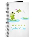 Hoppy Fathers day frogs Journal