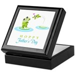 Hoppy Fathers day frogs Keepsake Box
