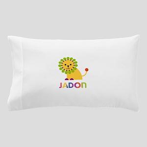 Jadon Loves Lions Pillow Case