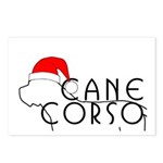 Cane Corso Holiday Postcards (Package of 8)