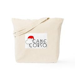 Cane Corso Holiday Tote Bag