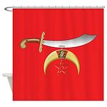 Shriner's Shower Curtain