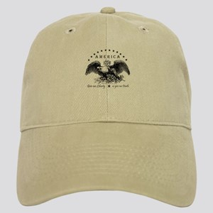 American Liberty Eagle Baseball Cap