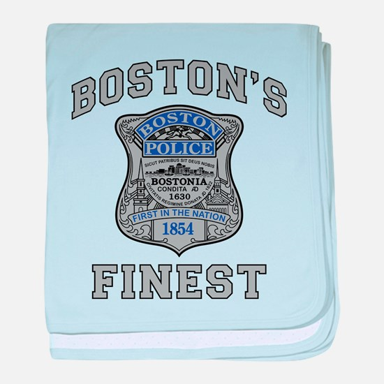 Unique Police baby blanket
