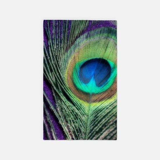 Peacock Purple Orton 3'x5' Area Rug