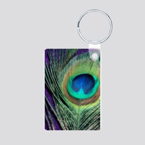 Peacock Purple Orton Keychains