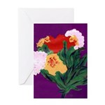 JanYager-artwork-flowers Greeting Cards
