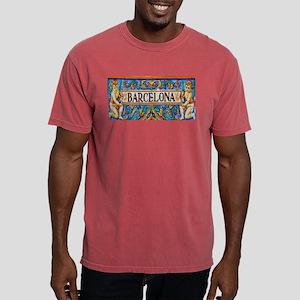 Barcelona Mosaica Mens Comfort Colors Shirt