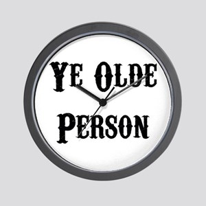 Ye Olde Person Funny Birthday Wall Clock