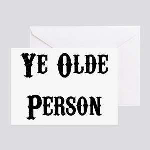 Ye Olde Person Funny Birthday Greeting Cards (Pack