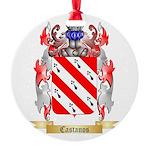Castanos Round Ornament
