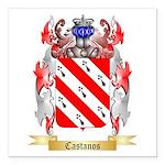 Castanos Square Car Magnet 3