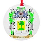 Castanon Round Ornament