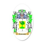Castanon Oval Car Magnet