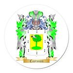 Castanon Round Car Magnet