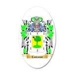 Castanon 20x12 Oval Wall Decal