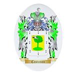 Castanon Ornament (Oval)