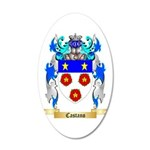Castano 20x12 Oval Wall Decal