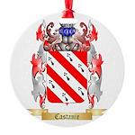 Castanie Round Ornament