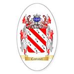 Castanet Sticker (Oval 50 pk)