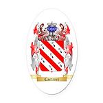 Castaner Oval Car Magnet