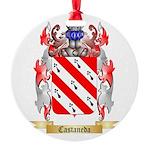 Castaneda Round Ornament
