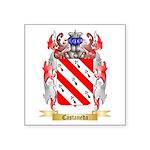Castaneda Square Sticker 3