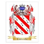 Castaneda Small Poster