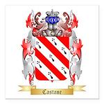 Castane Square Car Magnet 3