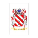 Castane Sticker (Rectangle)