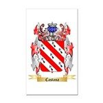 Castana Rectangle Car Magnet
