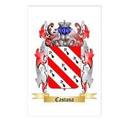 Castana Postcards (Package of 8)