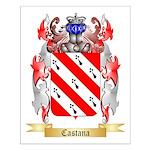 Castana Small Poster