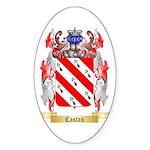 Castan Sticker (Oval 10 pk)