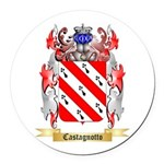 Castagnotto Round Car Magnet
