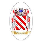Castagnotto Sticker (Oval 10 pk)
