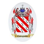 Castagnotto Ornament (Oval)