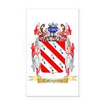 Castagnone Rectangle Car Magnet