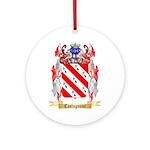 Castagnone Ornament (Round)