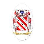 Castagnoli Oval Car Magnet