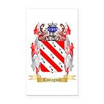 Castagnoli Rectangle Car Magnet