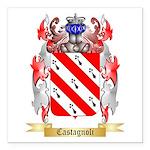 Castagnoli Square Car Magnet 3
