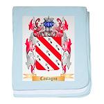 Castagno baby blanket