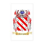 Castagno Sticker (Rectangle)