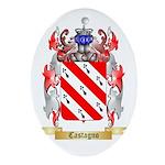 Castagno Ornament (Oval)