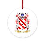 Castagno Ornament (Round)