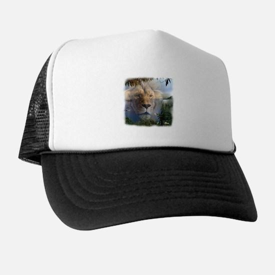 Lion and Lamb Trucker Hat