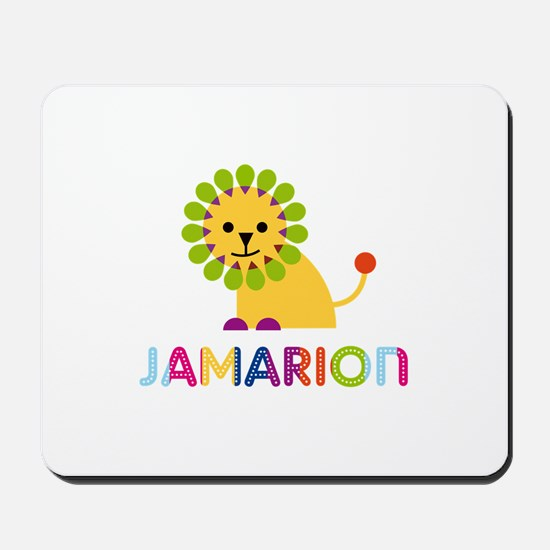 Jamarion Loves Lions Mousepad